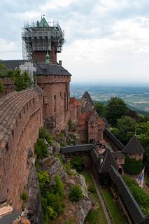 Visite du Château du Haut Koenigsbourg - Panorama