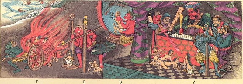 Japanese Buddhist Depiction Of Hell - 2