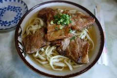 Pork rib noodle