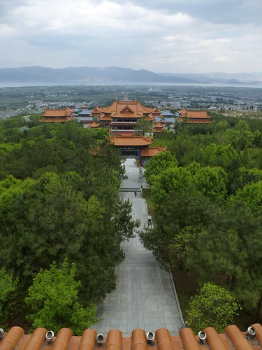 Yunnan13-Dali-11. Pavillon vue Mont et Mer (13)