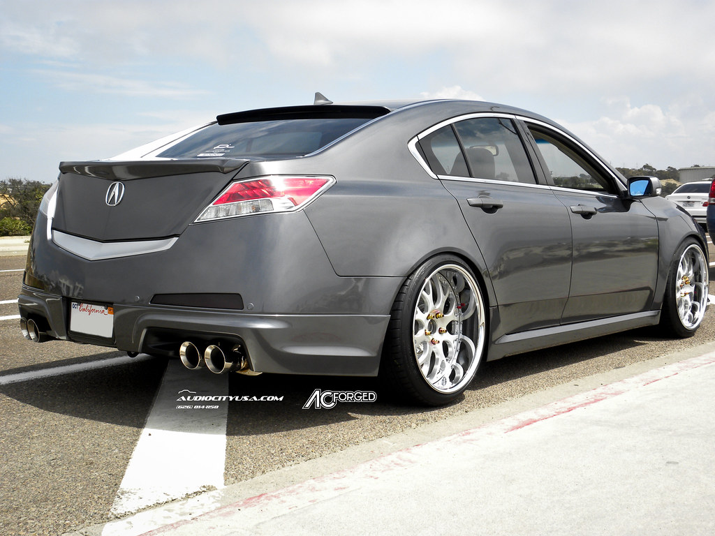 "STANCED ACURA TL | DUAL LIP 20"" AC Forged 818 