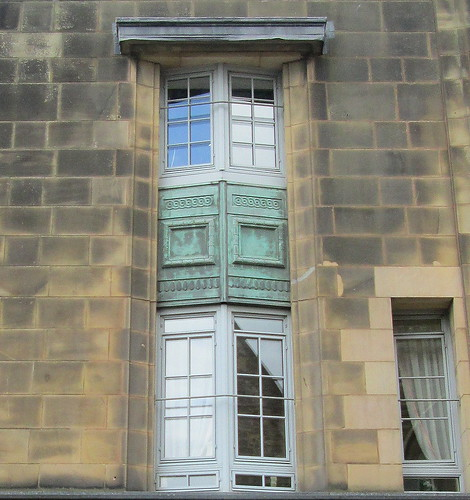 Window Detail, Former Co-operative Building, Leven