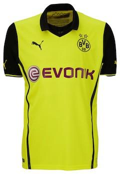 Borussia Dortmund (BVB) Champions League-Trikot (Saison 2013-2014) von Puma