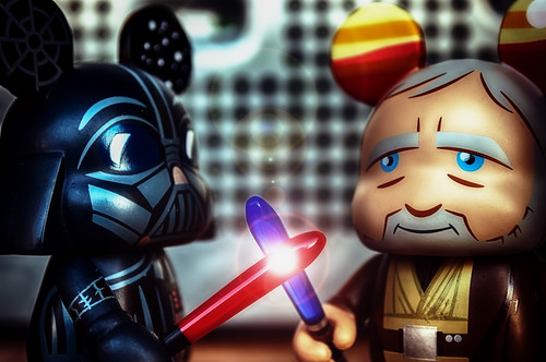 The Epic Battle Of The Force by hbmike2000