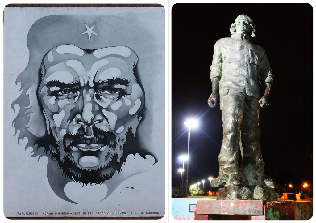 Che Guevara in Rosario Argentina