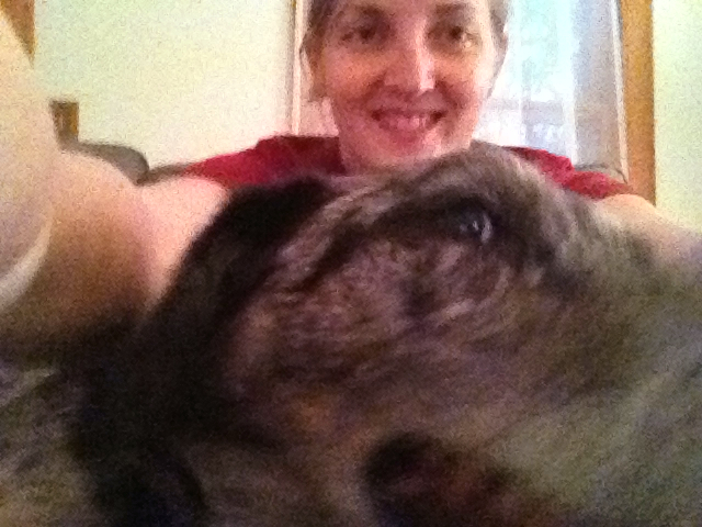 ziggy is not always great at selfies #project365