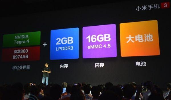 Характеристики Xiaomi Mi3