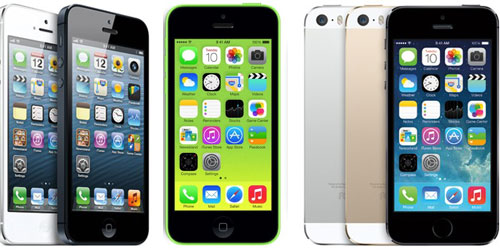 IPhone 5 vs iPhone 5S vs iPhone 5C Comparison Chart