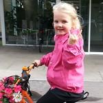 The Lulu rocks AND rolls. #thelulu #cyclechic