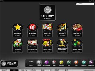 Luxury Casino Lobby