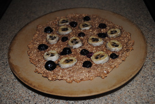 blueberry banana breakfast pizza (3)