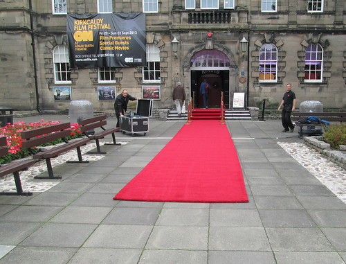 Red Carpet for Kirkcaldy Film Festival