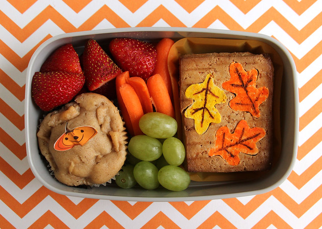 Preschool Autumn Bento #514