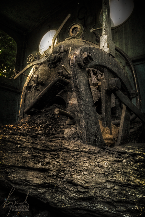 Old Coal Engine