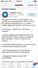 Funny App Updates