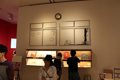 スヌーピー展_壁の絵3