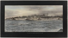 The grand fleet leaving Scapa Flow, May 1916