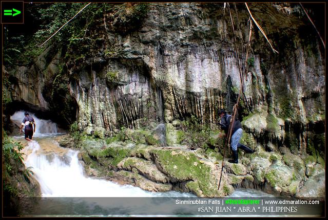 Sinminublan Falls: San Juan, Abra