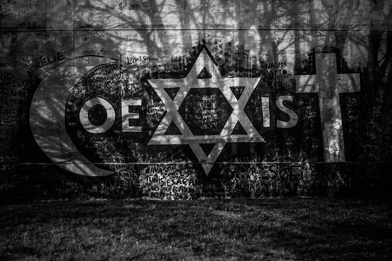 Evry Daily Photo - Fresque CoeXisT de Combo a Evry