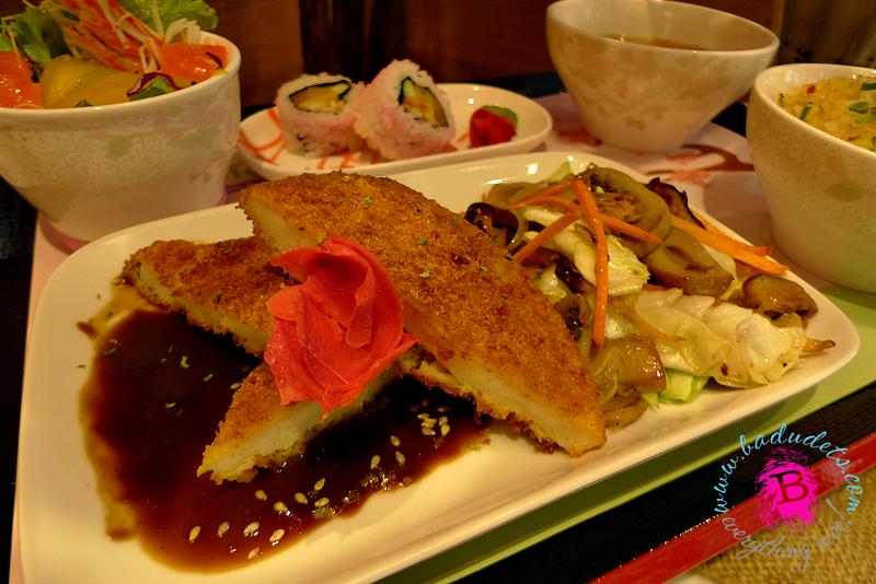 Sakura Soy Ginger Fish tokyo bubble tea