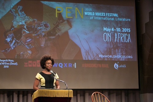 Chimamanda Ngozi Adichie © Beowulf Sheehan/PEN American Center