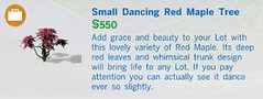 Small Dancing REd