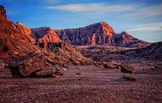 Vermillion Cliffs at Sunrise