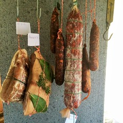 Salumi , Charcuterie , Fermented sausages and curing meats