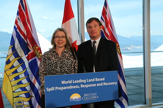 BC to move ahead on world-leading spill response