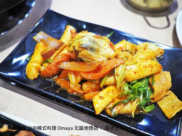 麻藥瘋雞 台中韓式料理 Omaya 北區崇德店 33