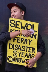 Sewol Korean Ferry Disaster, now more than  two years ago
