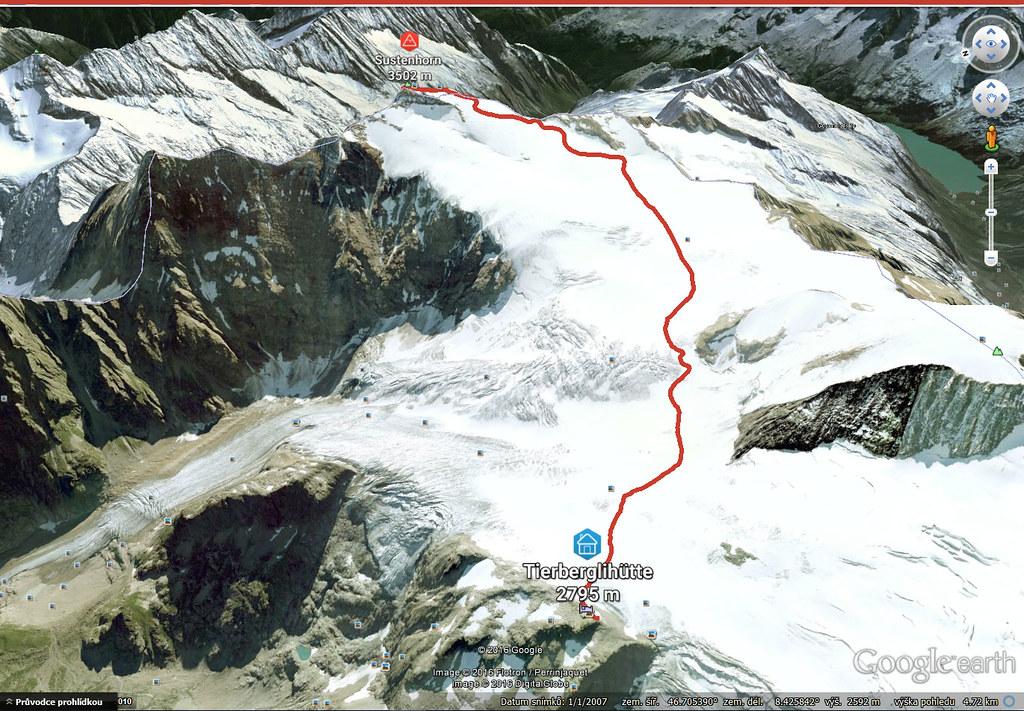 Sustenhorn (day 1, h.r. Swiss Glacier) Urner Alpen Schweiz foto 02