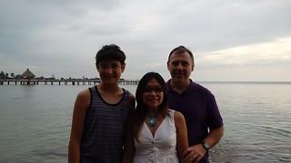 Ambassador Heidt and family visit Mondulkiri.