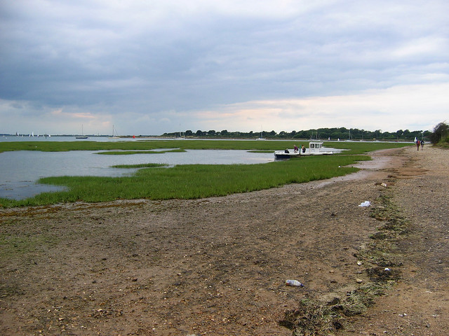 Chichester harbour opposite West Itchenor