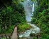 Hikong Bente Falls by VisualTreats