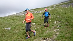 Greg & Alex descending down to Wasdale, end of Leg 3 Image