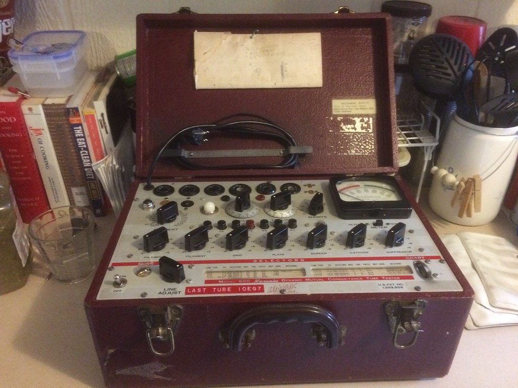 Hickock 600 tube tester