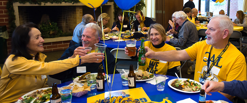 January 3, 2016 - 2:23pm - Jan 3, 2016; Berkeley, CA, USA; California Alumni Association Traditional Hoops Party at Alumni House. Photo Credit: Kelley L Cox-KLC fotos for CAA