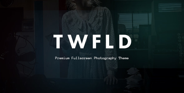 TwoFold Photography v1.4.0 – Fullscreen Photography Theme