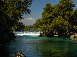 Attēls no Manavgat Waterfall. turkey waterfall antalya manavgat