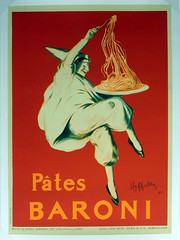 """Pates Baroni"" Vintage French Advertising Poster at Smith Galleries"