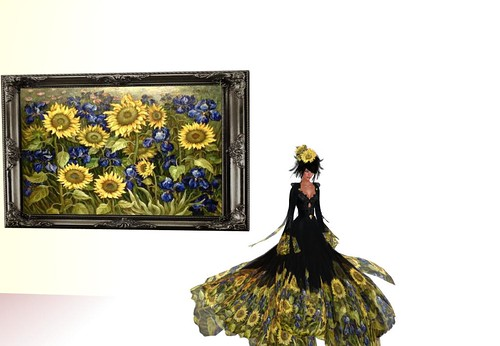 TWA Masterpiece-Van Gogh Gown Set (members exclusive) by Cherokeeh Asteria