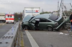 Verkehrsunfall A66 Biebrich 12.04.12