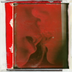 Passion in red - polaroid manipolation