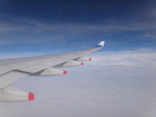 起飛前往曼谷