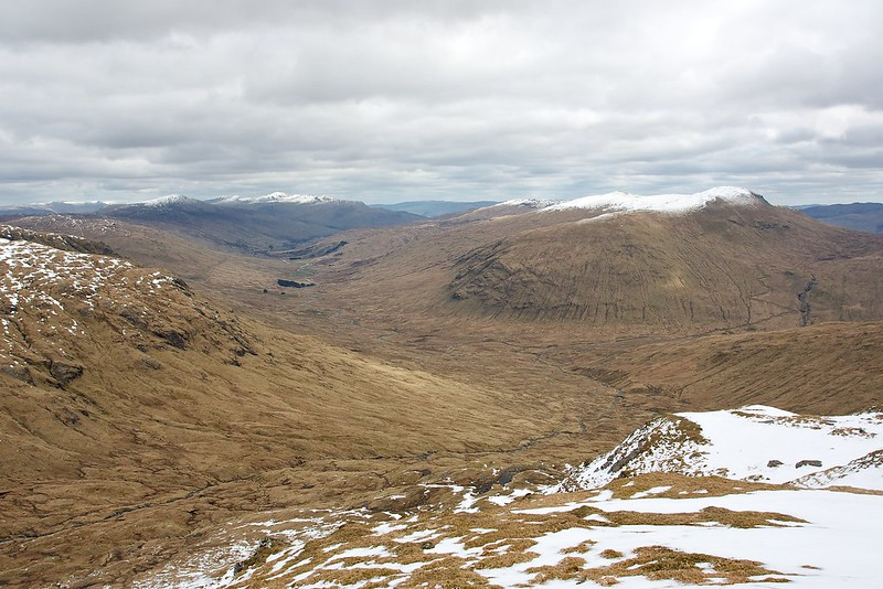 Looking down Glen Lochay