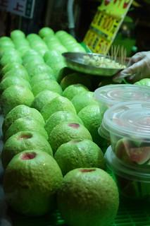 Raohe Night Market guavas