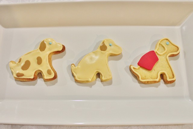 Guide Dog Cookies