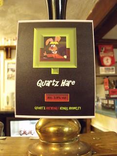 Quartz, Quartz Hare, England