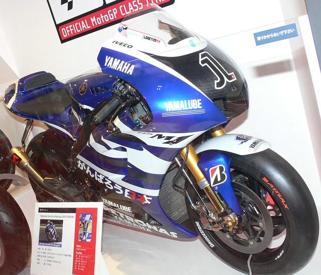 YAMAHA 2011 YZR-M1(OWT1) #1 Jorge Lorenzo